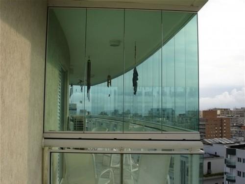 vidro temperado para sacada